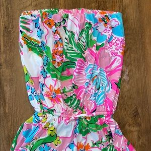 SOLD! Lilly Pulitzer maxi length floral dress!